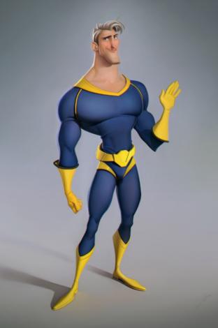 super hero SERGE